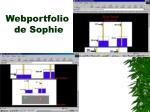webportfolio de sophie
