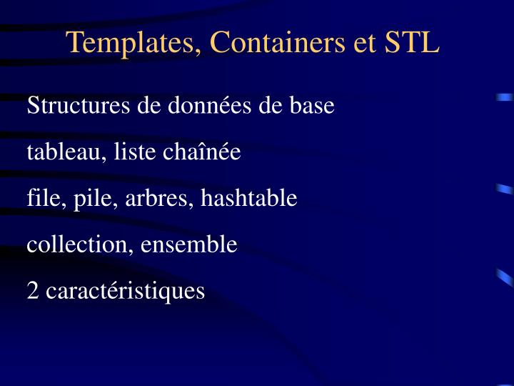 templates containers et stl n.