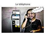 le t l phone