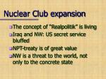 nuclear club expansion