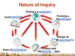 nature of inquiry