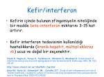kefir interferon