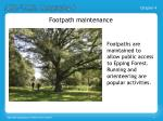 footpath maintenance