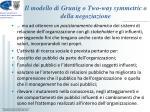 il modello di grunig o two way symmetric o della negoziazione2