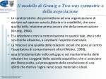 il modello di grunig o two way symmetric o della negoziazione4