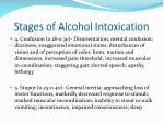 stages of alcohol intoxication1