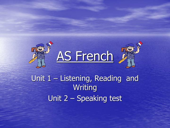 As french