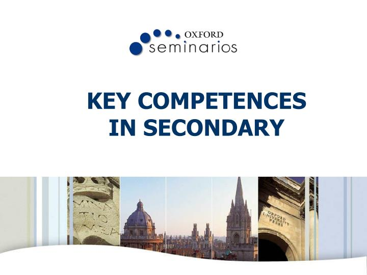 key competences in secondary n.