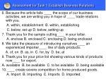 assessment for task 1 establish business relations2