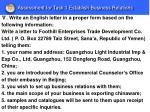 assessment for task 1 establish business relations6