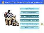learning task 2 agency application and appointment4