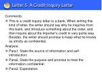 letter 5 a credit inquiry letter1