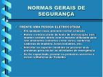 normas gerais de seguran a3