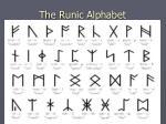 the runic alphabet