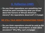 9 reflection hw