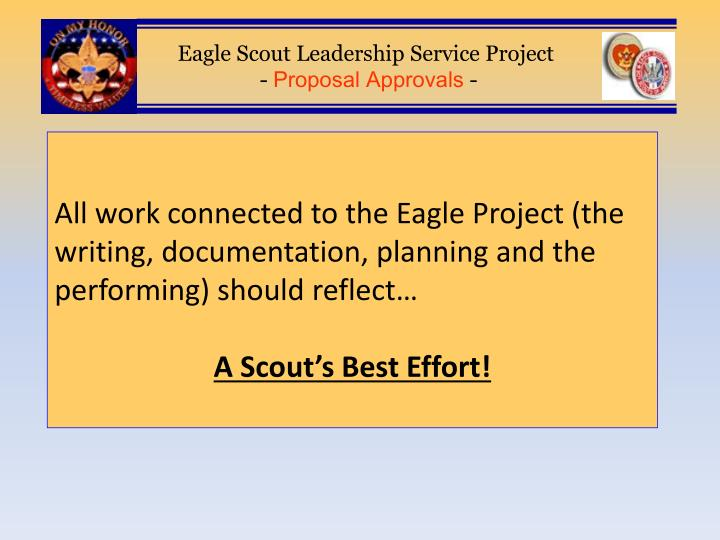 Eagle Project Write Up Homework Academic Service