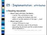 e5 i mplementation attributes3