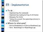 e5 implementation2