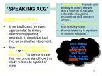 speaking ao21
