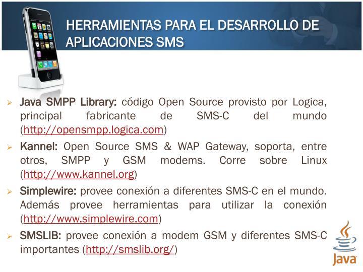 Java SMPP Library: