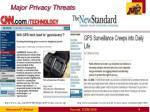 major privacy threats3
