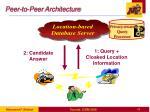 peer to peer architecture
