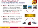 service privacy trade off case study pay per use insurance1