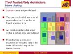 third trusted party architecture k area cloaking