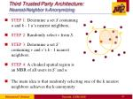 third trusted party architecture nearest neighbor k anonymizing
