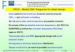 ppcs model c d response for detail design