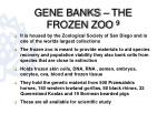 gene banks the frozen zoo 9