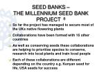 seed banks the millennium seed bank project 81
