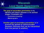 wisconsin local health departments4