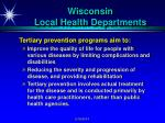 wisconsin local health departments5