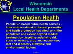wisconsin local health departments6