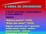 a obra de drummond