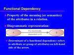 functional dependency1