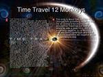 time travel 12 monkeys