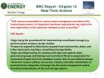 brc report chapter 13 near term actions