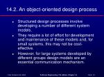 14 2 an object oriented design process