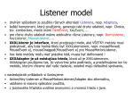 listener model