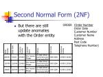 second normal form 2nf6