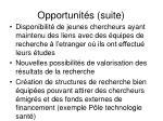 opportunit s suite