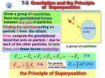 7 3 gravitation and the principle of superposition