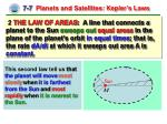 7 7 planets and satellites kepler s laws1