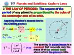 7 7 planets and satellites kepler s laws3