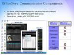 officeserv communicator components