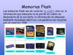memorias flash