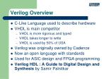 verilog overview1