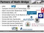 partners of math bridge